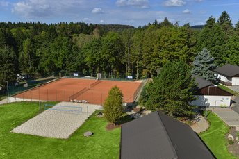 EA Hotel Kraskov**** - tennis courts and outdoor playground