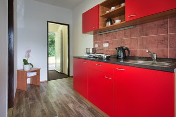 EA Family Cottages Kraskov - separate kitchenette